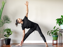 Marcus Stanback - triangle pose
