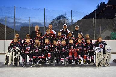 Les Juniors, équipe 2015-2016