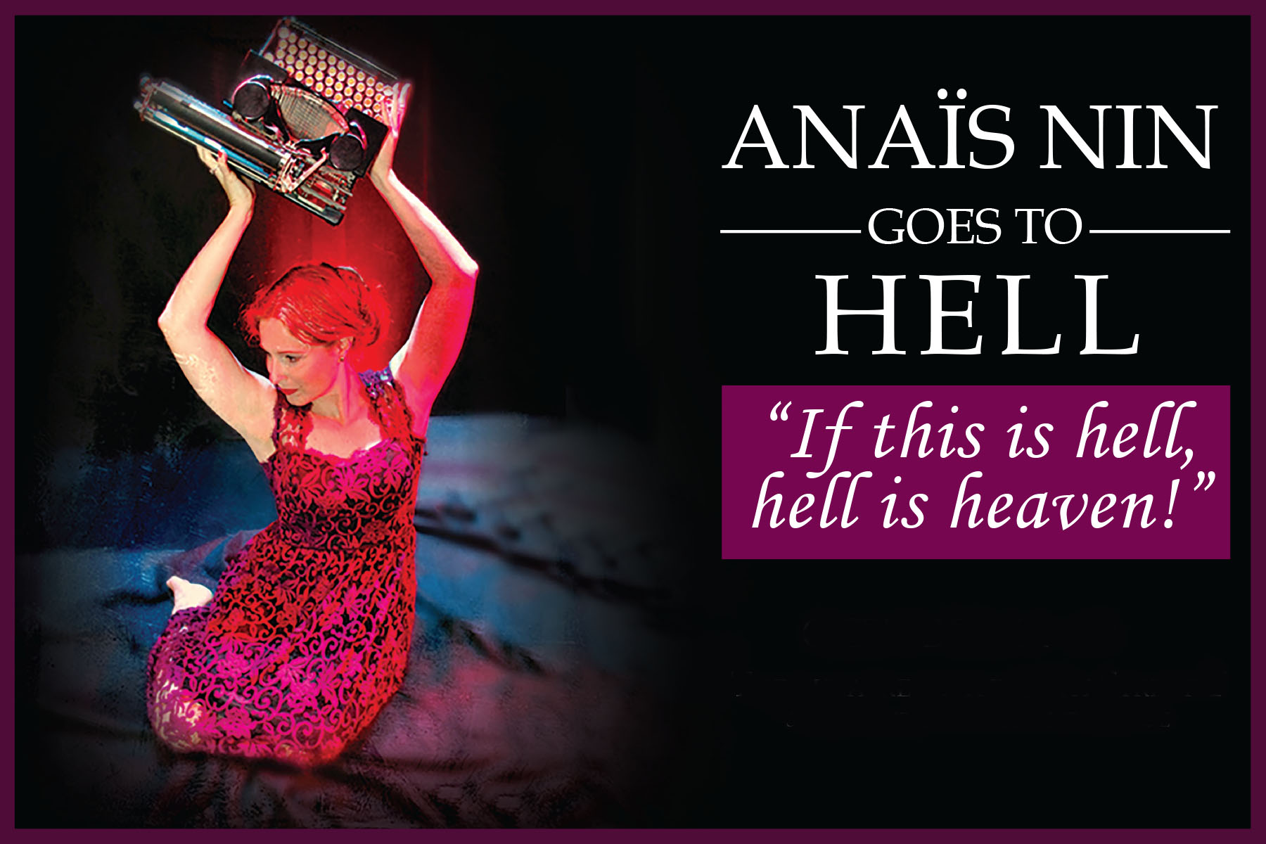 Anais Nin Goes to Hell