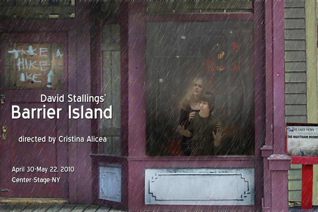 Barrier Island Postcard