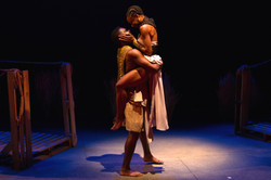 James Edward Becton as Antony and Nylda Mark as Cleopatra_Photo by Jody Christopherson_2