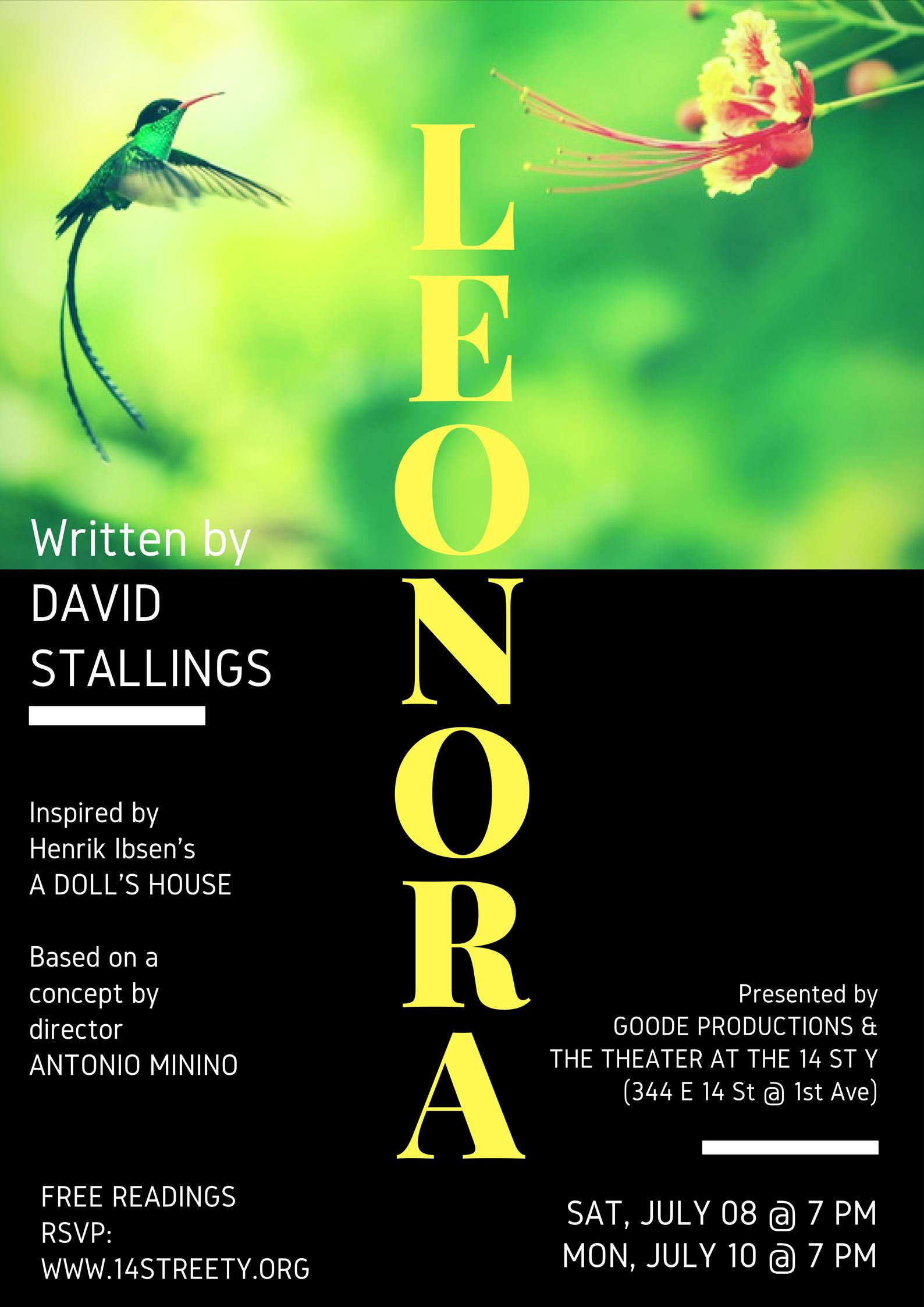 Leonora Invitation