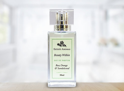 Rose, Orange and Sandalwood Perfume