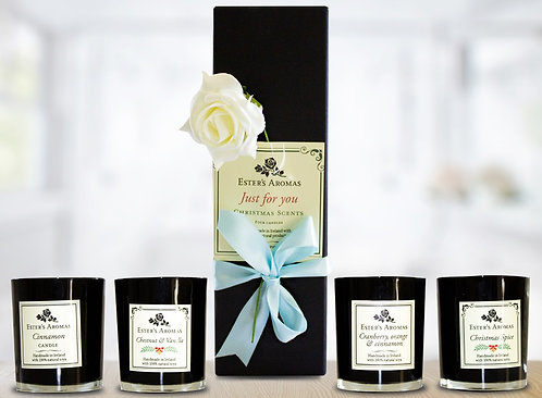 Black Candle Christmas Scents GiftBox