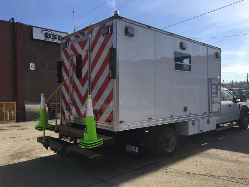 Custom Built Mechanic Truck