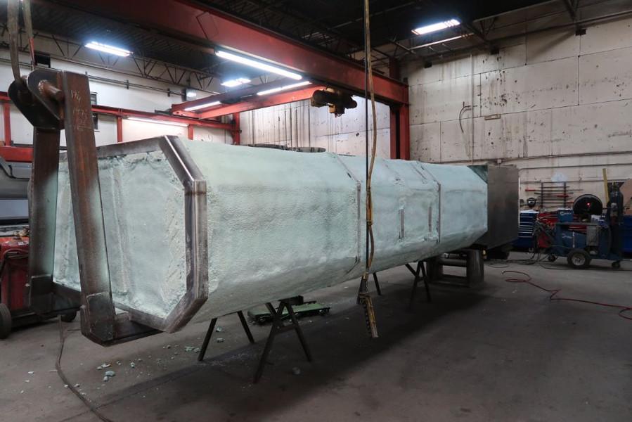 Custom Made 3,000 Gallon Water Tank, with Custom Paint Job