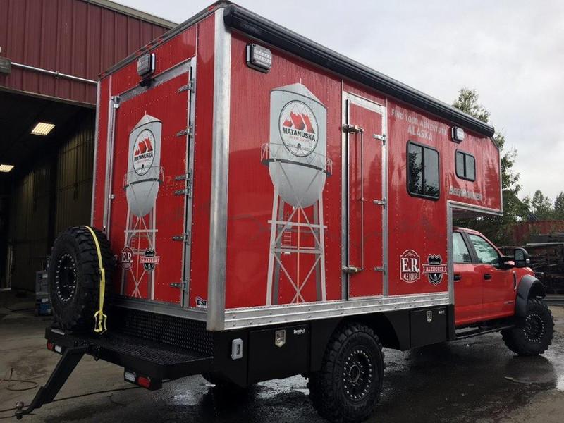 Custom Built Beer Wagon