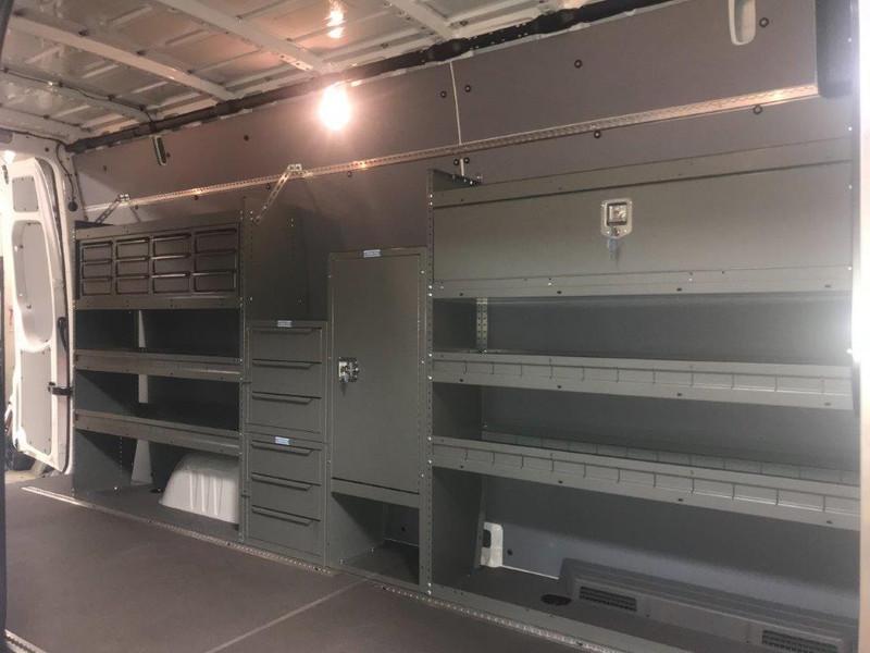 Adrian Steel Van Package