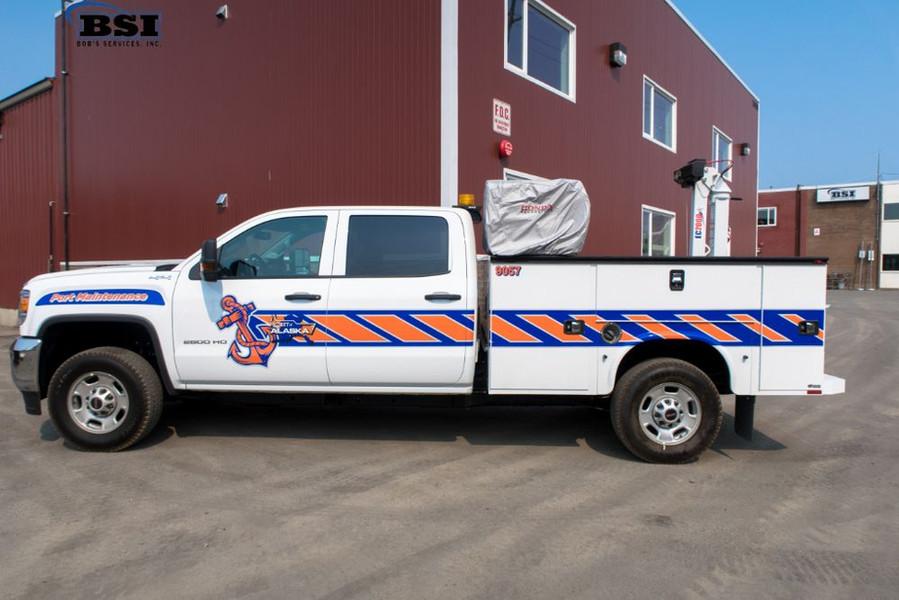 Service Truck with EC2K Stellar Crane