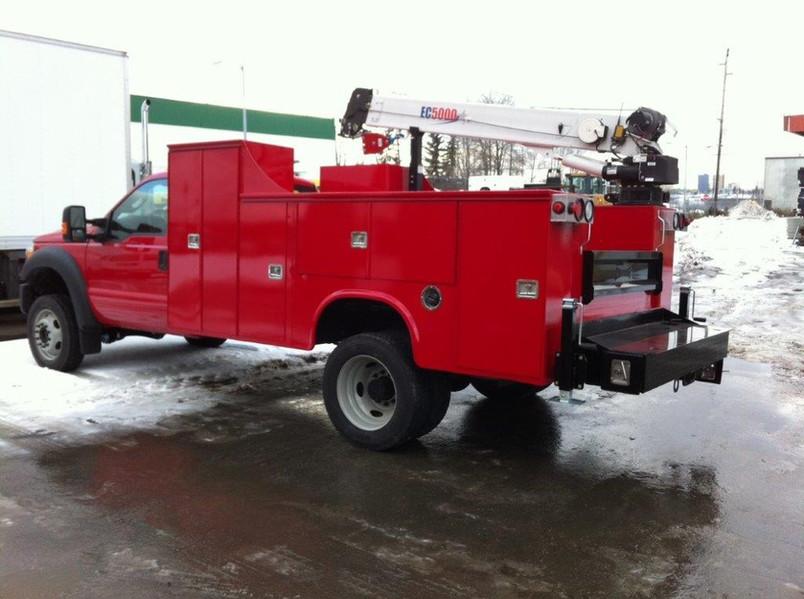 Service Truck with Stellar Crane