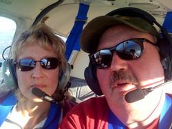 Bill Brown and Kaylene Brown