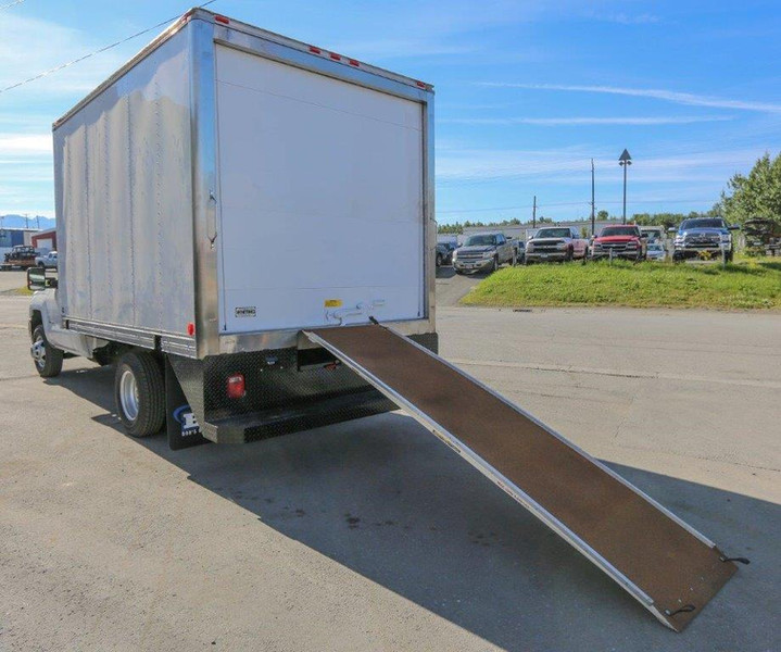 Custom Box Van with Ramp