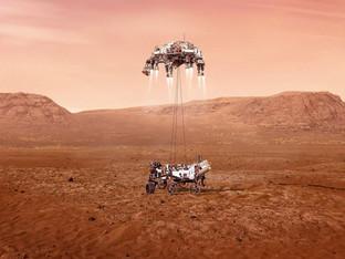 NASA live streaming rover landing on Mars