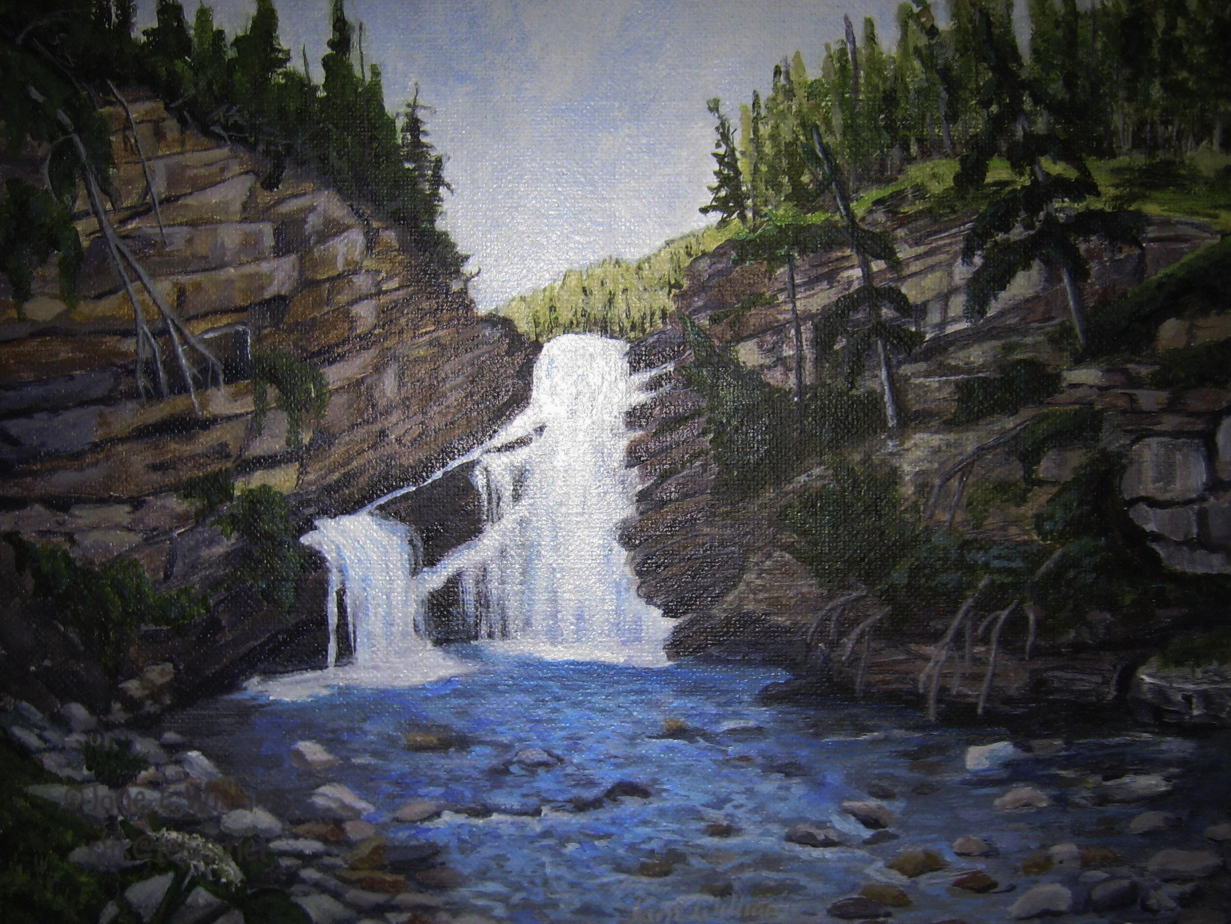 Cameron Falls, Waterton AB