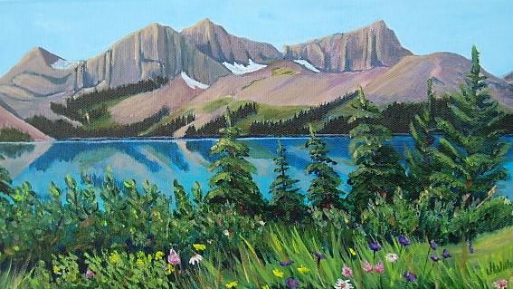 Scenic view to Jasper