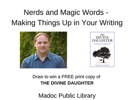 Word Nerd Day at the Madoc Public Library