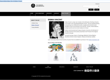My Work is Up On the Canadian Bar Association Website!