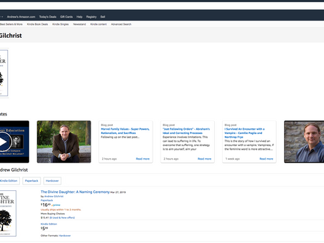 So That's How the Amazon Author Page Services Work...