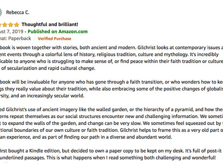Review from Rebecca about Faith Transitions and Wonderful Challenges