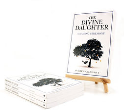 The Divine Daughter Book stand stack sma