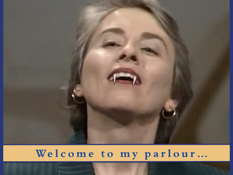 I Survived An Encounter with a Vampire - Camille Paglia and Northrop Frye