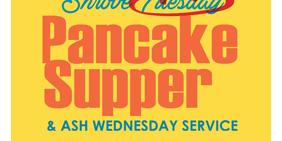 Pancake Supper & Ash Wednesday Service