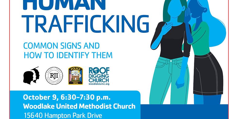 YMCA Community Conversation Event - Human Trafficking