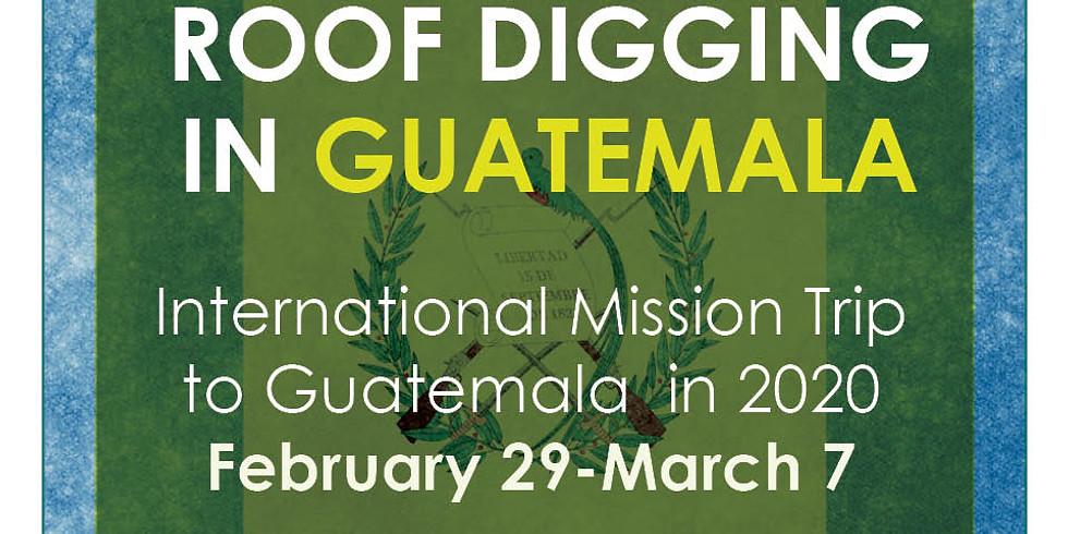International Missions: Guatemala Mission Trip
