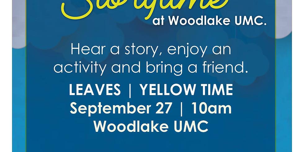 Storytime at Woodlake UMC.
