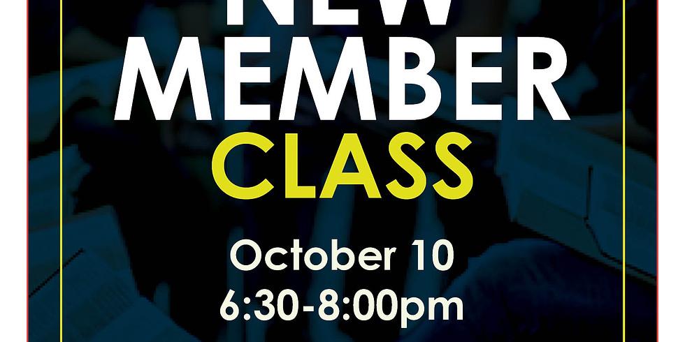 New Member Class - Last Class before NLI Vote