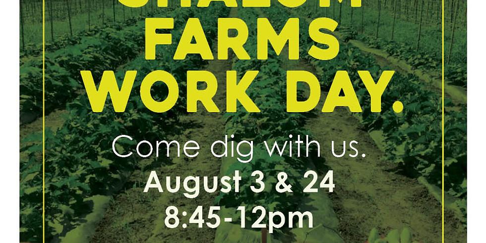 Shalom Farms Work Day