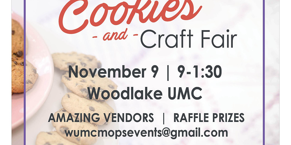 MOPS Cookies and Craft Fair