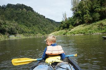 Natur i New Zealand, Kano, Kajak, Whanganui River