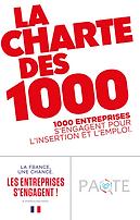 Logo tryptique - charte des 1000 - 15x30