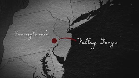 History Channel's Black Patriots Map gra