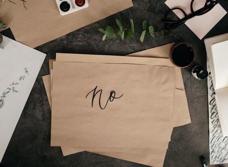 Caregiver: How to Say No