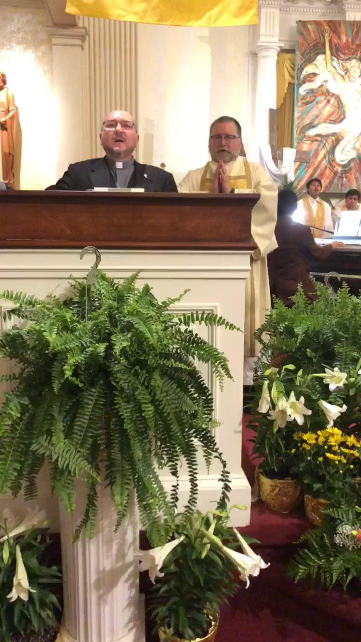 Easter Vigil-Vigilia Pascual, 2018 2/3
