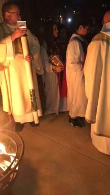 Easter Vigil-Viglia Pascual, 2018 1/3
