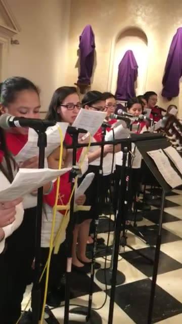 Domingo de Ramos  Parroquia Cristo Rey Silver Spring M.D