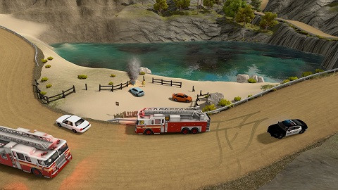 Flashing Lights - Police, Firefighting, Emergency Services Simulator