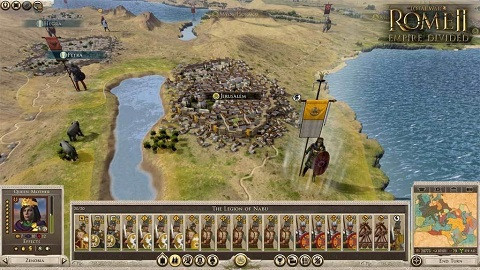 Total War Rome II Empire Devided