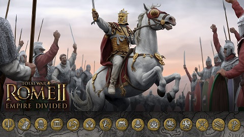 Total War Rome II Empire Devided + All DLC's Free Download
