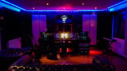 Hellfire Studios control room