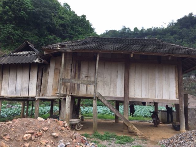 ベトナムの農家