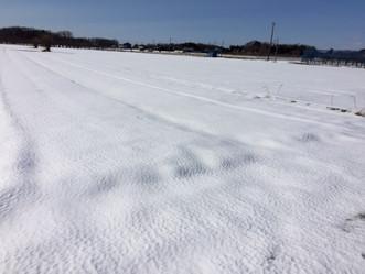 降雪と大寒波、厳しい状況です。