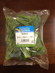 茨城県 有機野菜 スティックセニョール 摘心