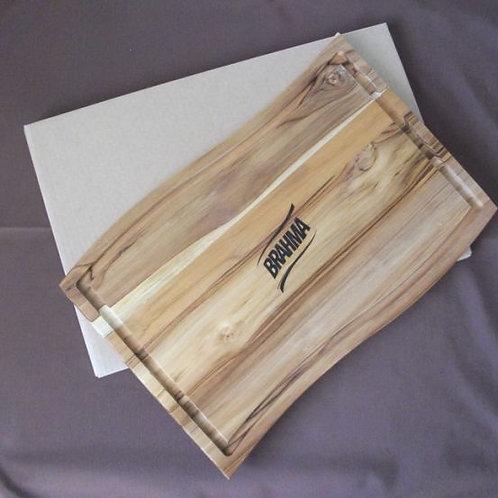 Tábua com caixa kraf