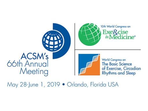 ACSM Annual Meeting 2019