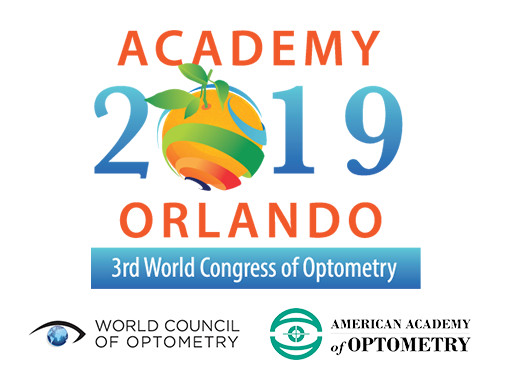 Academy 2019 Orlando and the 3rd World Congress of Optometry