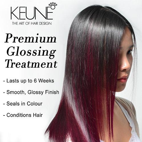 Premium Glossing Treatment